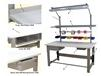 1,600 LB. CAPACITY ROOSEVELT SERIES WORKBENCHES - WITH STAINLESS STEEL TOP