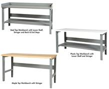 ADJUSTABLE HEIGHT CHANNEL LEG WORK BENCH
